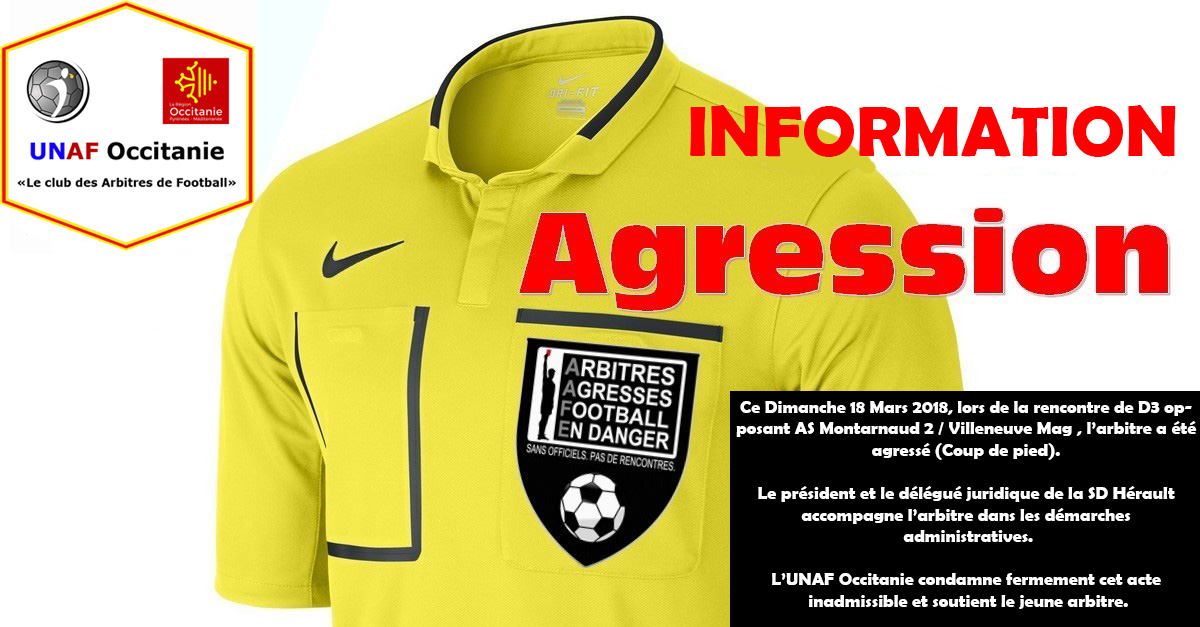 Information Agression FOURNIER Kévin