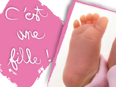 17 naissance fille pied
